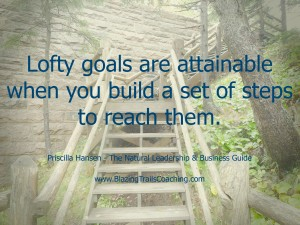 Lofty Goals are Attainable