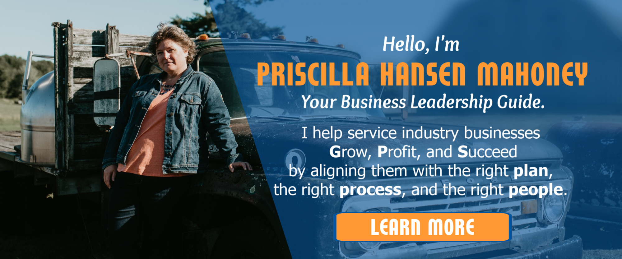 Service Industry Business Coach Consultant Priscilla Hansen Mahoney